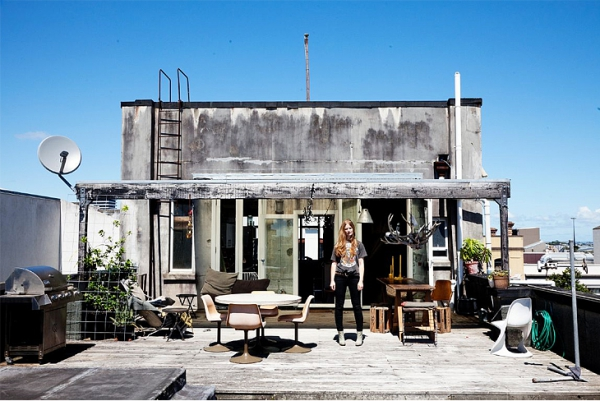 Rooftop Home That Exemplifies Charlotte Rust S Love For