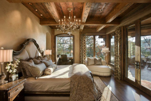 Rustic bedroom designs that invite and indulge (1)