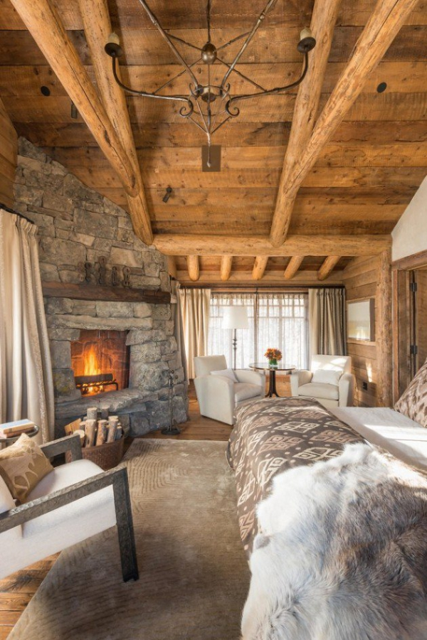 Rustic bedroom designs that invite and indulge (10)