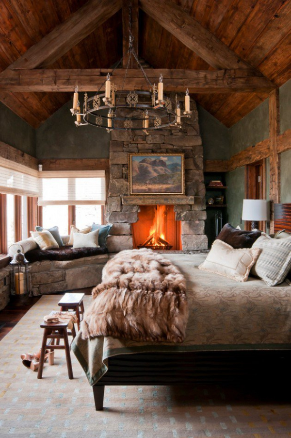 Rustic bedroom designs that invite and indulge (11)