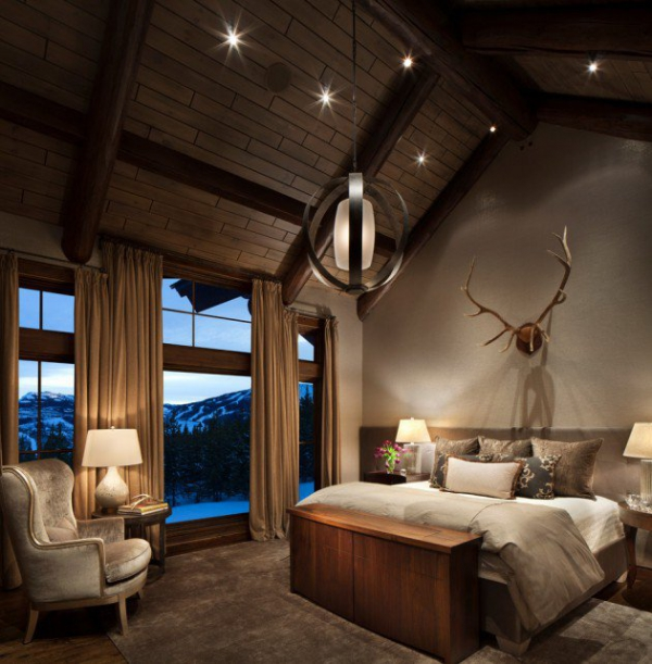 Rustic bedroom designs that invite and indulge (2)