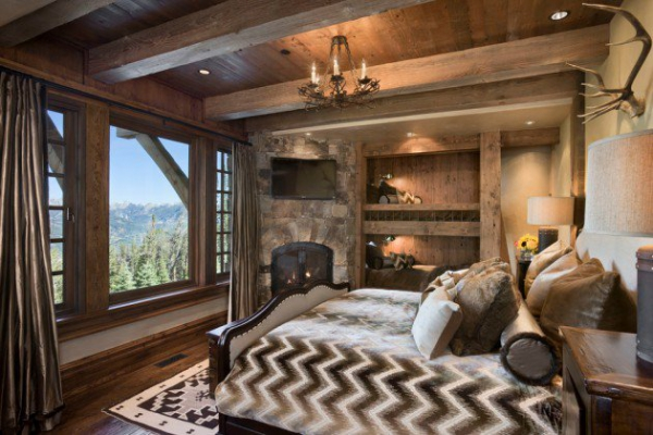Rustic bedroom designs that invite and indulge (3)