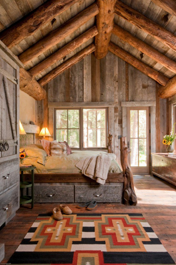 Rustic bedroom designs that invite and indulge (8)
