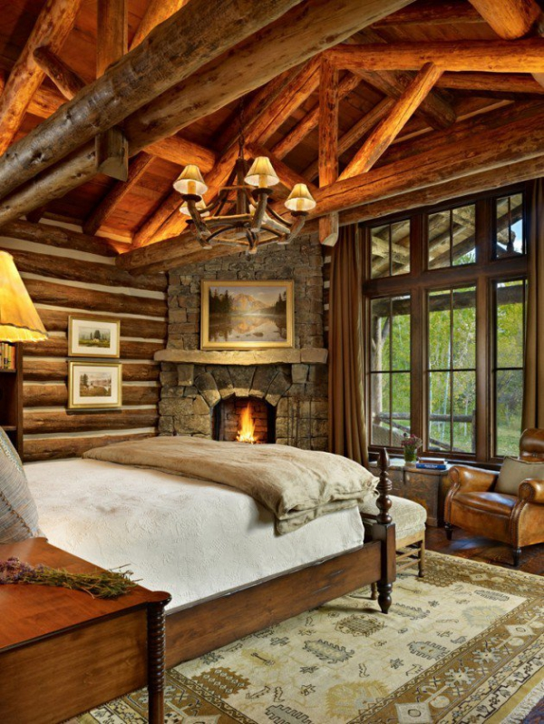 Rustic bedroom designs that invite and indulge (9)
