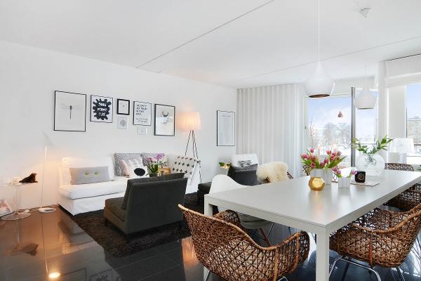 Apartment Interior Designers Captivating Scandinavian Apartment Interior Design  Adorable Home Inspiration Design
