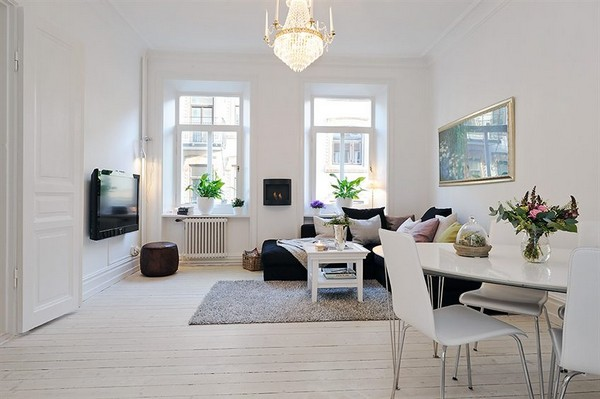 Scandinavian Style In The Living Room 1