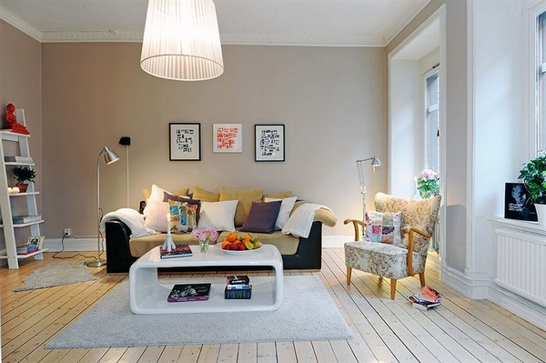 Scandinavian Style In The Living Room Adorable Home