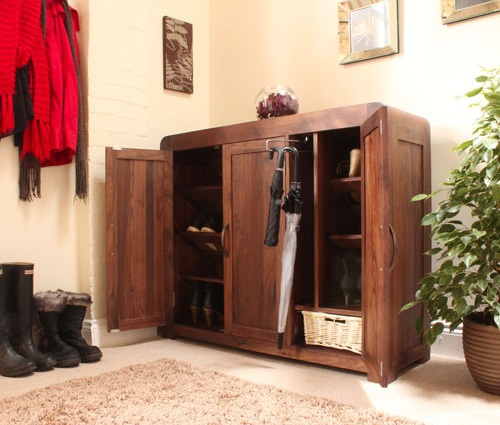 Shoe cupboard ideas for your hall (6)