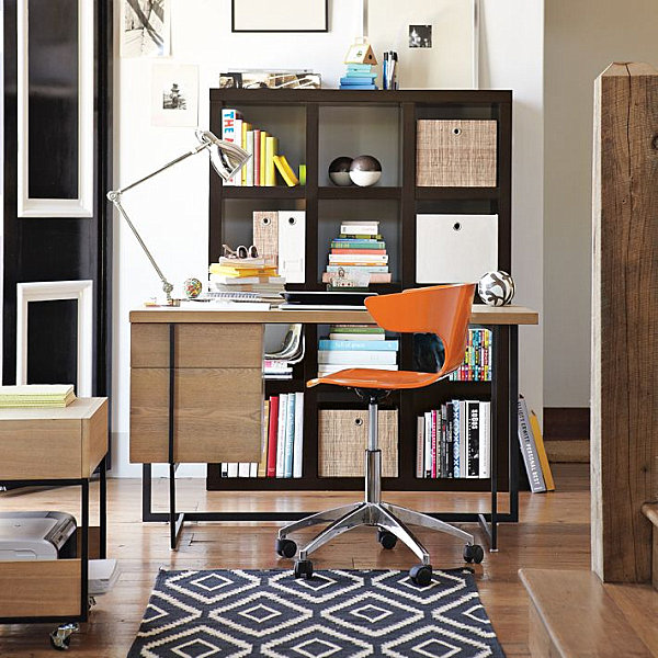 Small desk ideas for the study adorable home for Small home study ideas