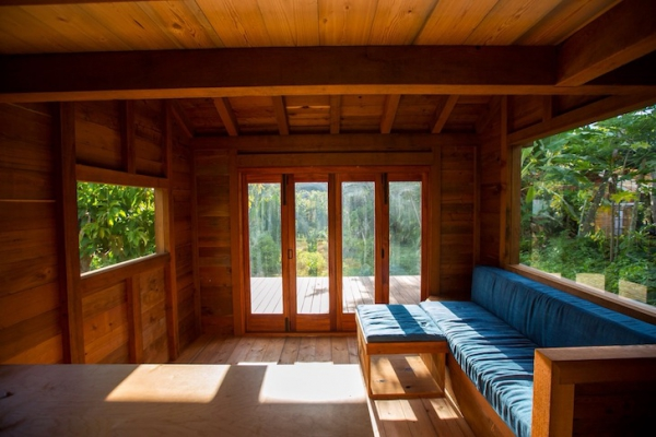 Small wooden cabin that is big on style (3)