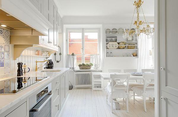 Kitchen Chandelier Over Sink