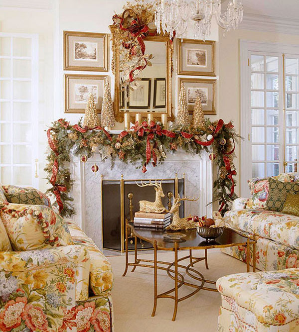 Sophisticated Christmas Décor in Gold – Adorable Home