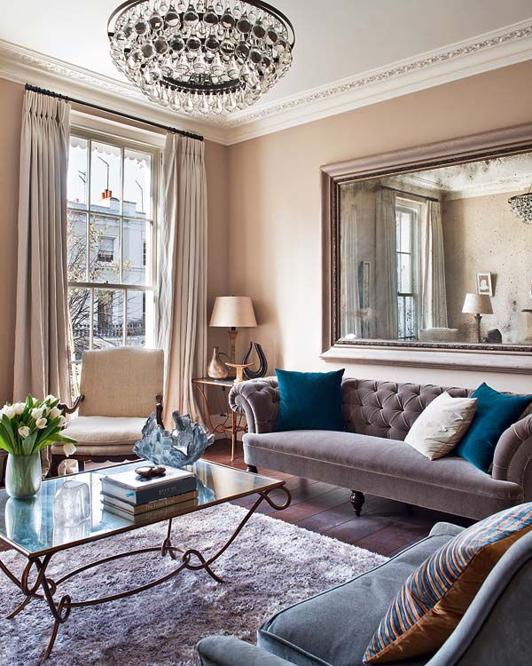 Sophisticated Home Study Design Ideas: Sophisticated Interior Design: A Study In Notting Hill