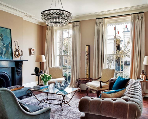 Sophisticated Interior Design A Study In Notting Hill