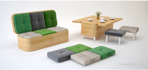 Exceptionnel Space Saving Convertible Furniture (2)