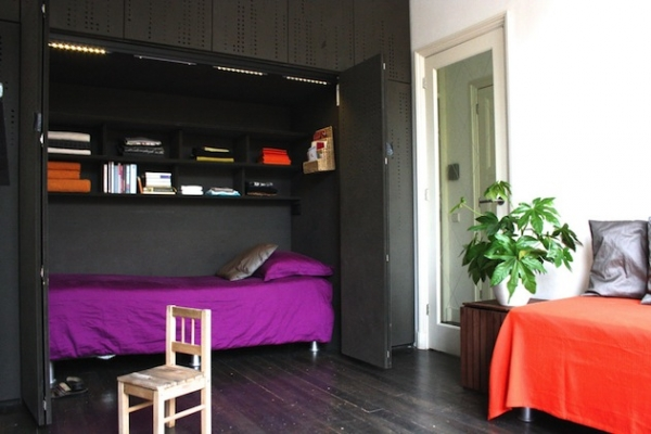 Space solutions hidden beds adorable home - Hidden beds for small spaces ...