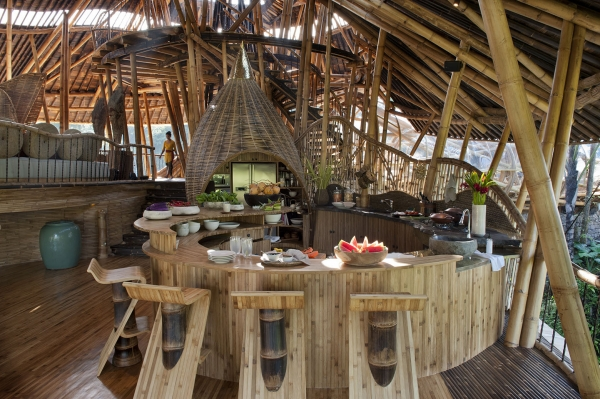 The Amazing Bamboo House B Amp B In Bali Adorable Home