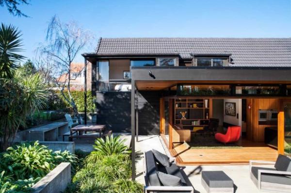 split level home renovation marine parade adorable home. Black Bedroom Furniture Sets. Home Design Ideas