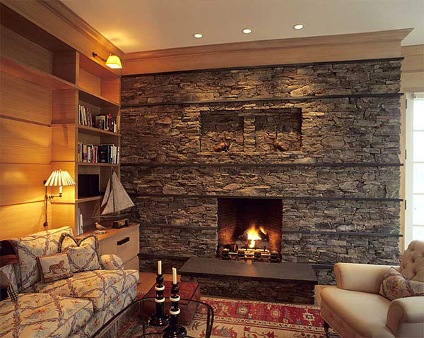 Stone Fireplaces 11