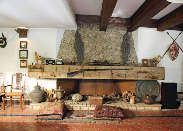 Stone Fireplaces 12
