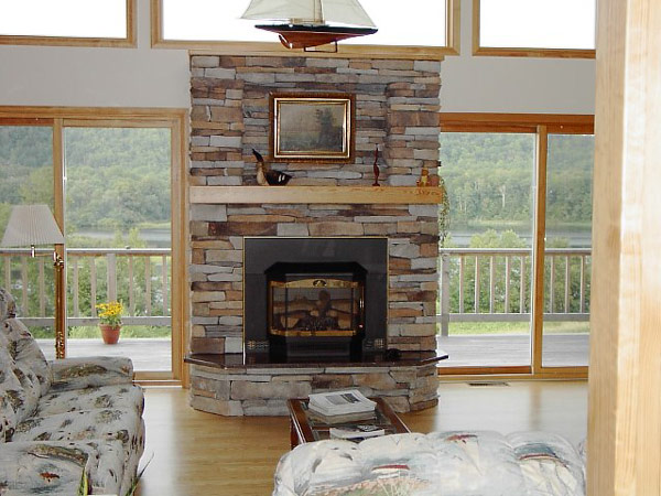 Perfect Stone Fireplaces 18
