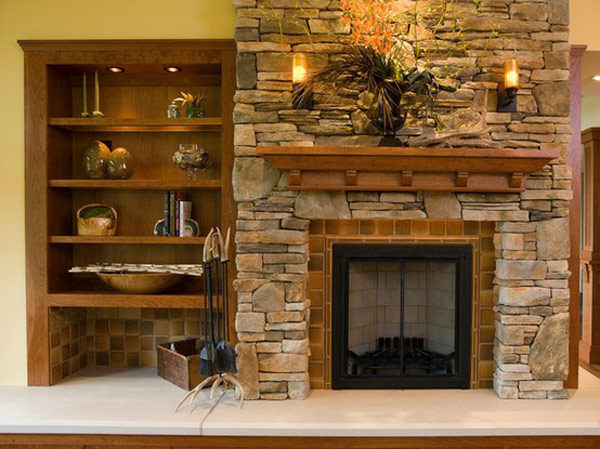 Pictures Of Fireplaces With Stone 30 indoor stone fireplaces – adorable home