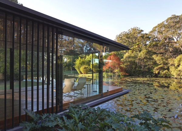 Stunning glass pavilion offers perfect mini spa retreat (1)