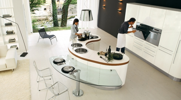 stunning kitchen island designs - Stunning Kitchen Designs