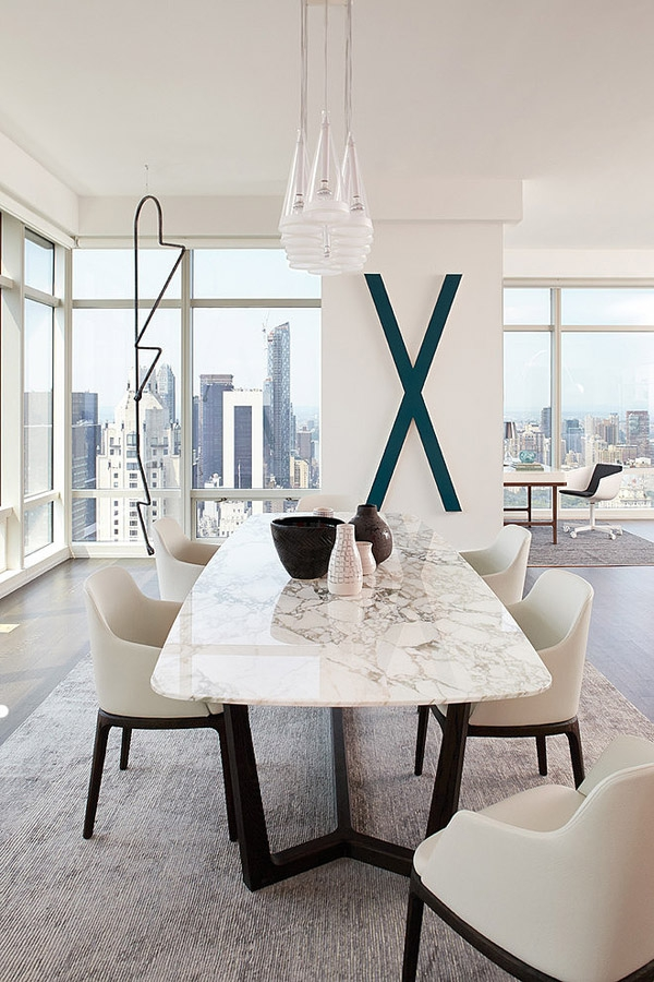 Stunning modern condo rises high above Central park             (6)