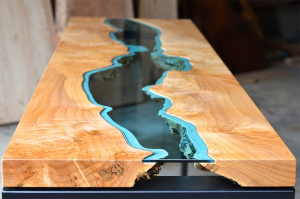 Stunning reclaimed wood tables (2)