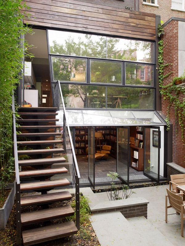 Stunning three story townhouse has a contemporary victorian feel to it (1)