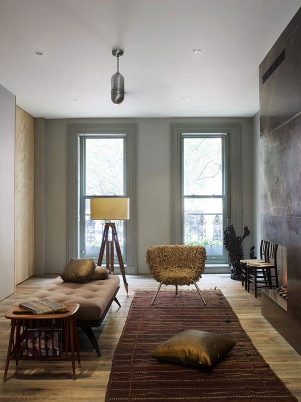 Stunning three story townhouse has a contemporary victorian feel to it (3)