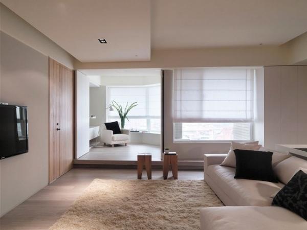 Stylish and serene minimalist interior design adorable home for Minimalist condo interior