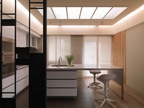 Stylish and serene minimalist interior design adorable home for Minimalist color scheme interior design