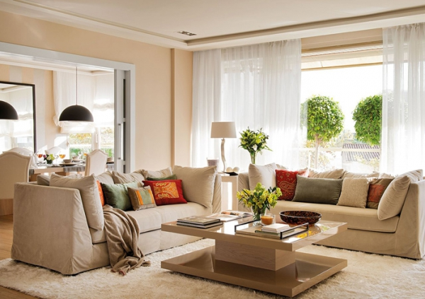 Stylish home decor for Neutral decor with pops of color