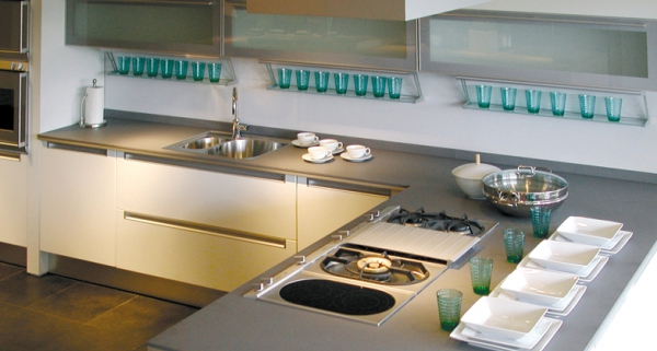 Stylish quartz kitchen countertops (1)