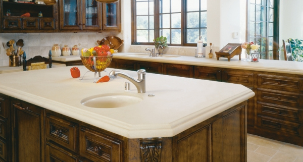 Stylish quartz kitchen countertops (13)