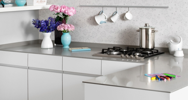 Stylish quartz kitchen countertops (3)