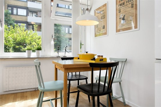 Stylish small apartment in classic Nordic style (2)