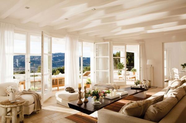 Sunny Living Room Designs 7