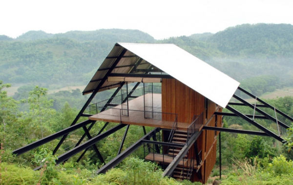 Home In The Mountains suspended house in the mountains – adorable home