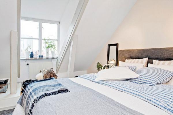Swedish attic apartment ideas  (10)