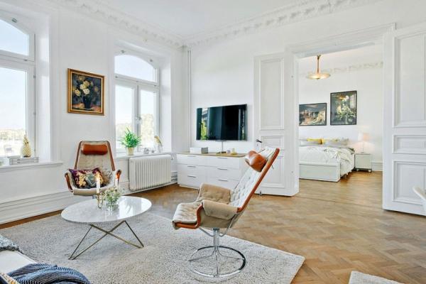 Swedish attic apartment ideas  (11)