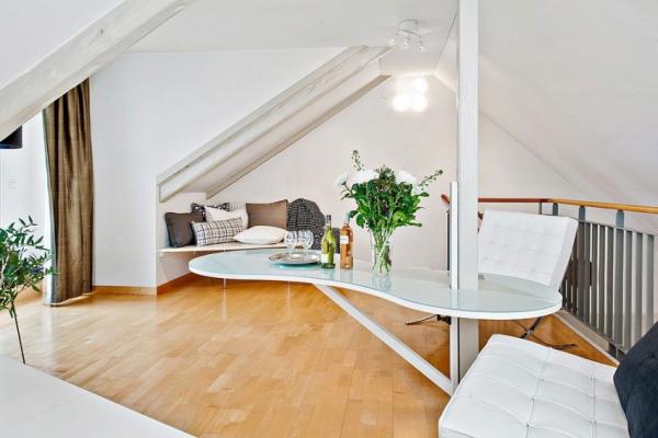 Swedish attic apartment ideas  (13)