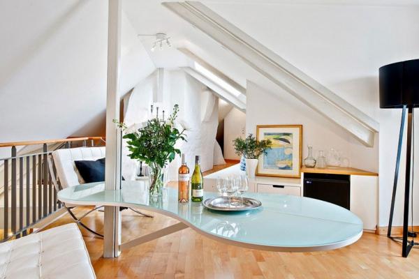 Swedish attic apartment ideas  (14)