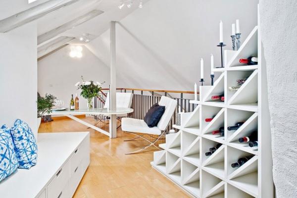 Swedish attic apartment ideas  (15)
