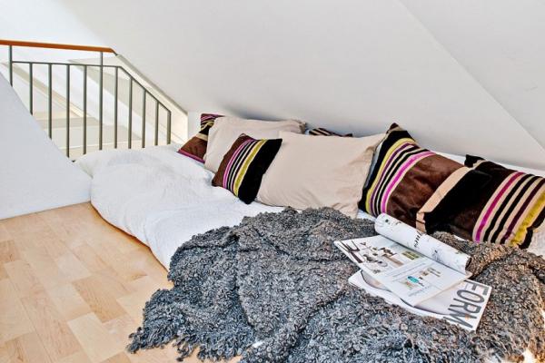 Swedish attic apartment ideas  (16)