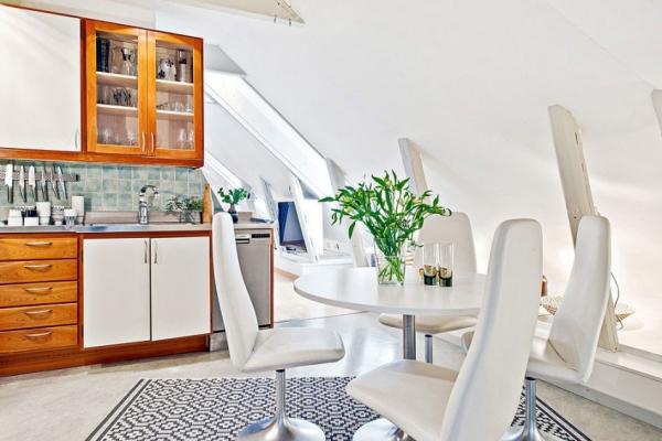 Swedish attic apartment ideas  (7)