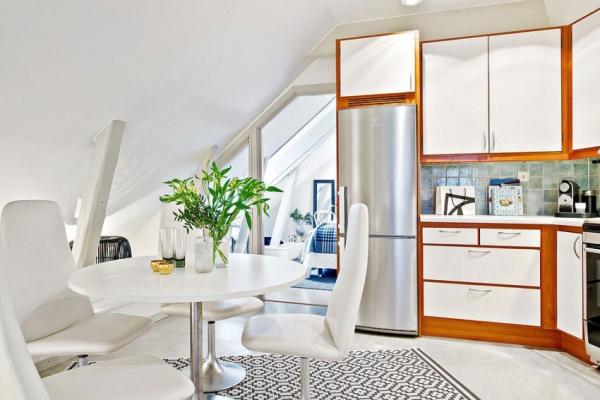 Swedish attic apartment ideas  (8)