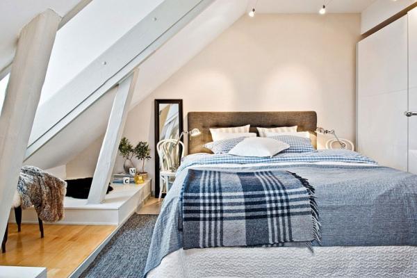 Swedish attic apartment ideas  (9)